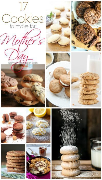 17 Cookies to Make for Mother's Day