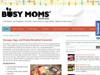The Busy Moms' Recipe Box