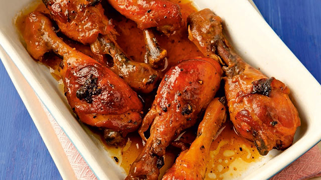 Baked Honey Butter Chicken