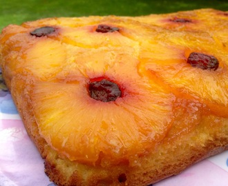 How To Make a Pineapple Upside Down Cake From Scratch