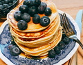 Pancakes all'acqua