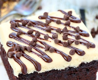 One bowl chocolate cake with brown sugar frosting recipe