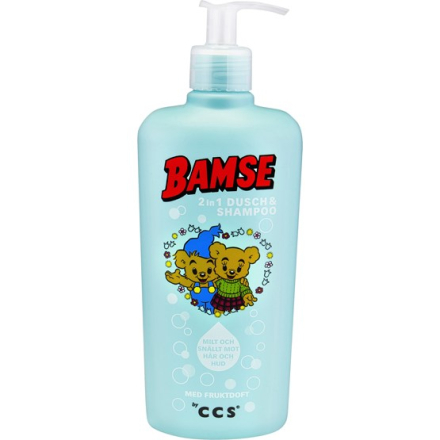 Bamse by CCS Bamse 2 In 1 Dusch & Schampo 450ml
