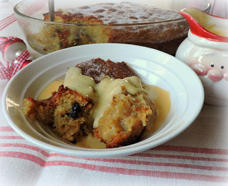 Apple & Mincemeat Pudding