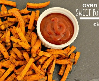 Oven Baked Sweet Potato Fries {paleo, vegan, gluten free}