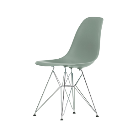 Eames Plastic Side Chair DSR stol - moss grey