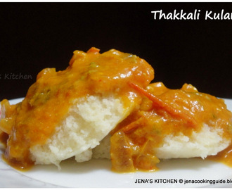 Thakkali Kulambu Or Tomato Curry without Coconut