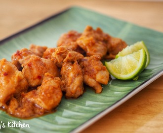 Thai Spicy Lemongrass Chicken