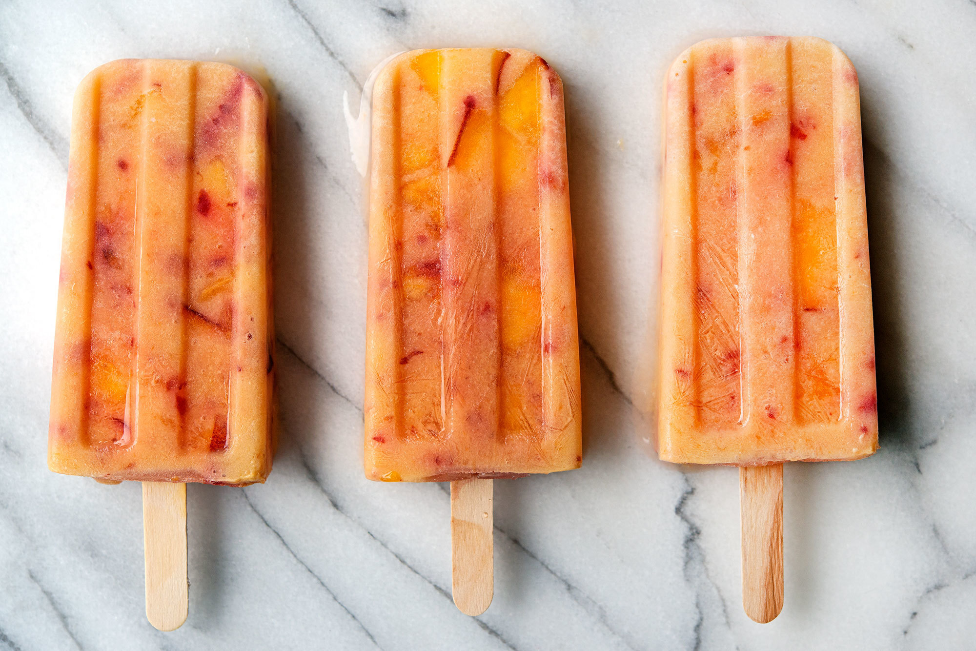 Popsicle Week: Peaches & Cream