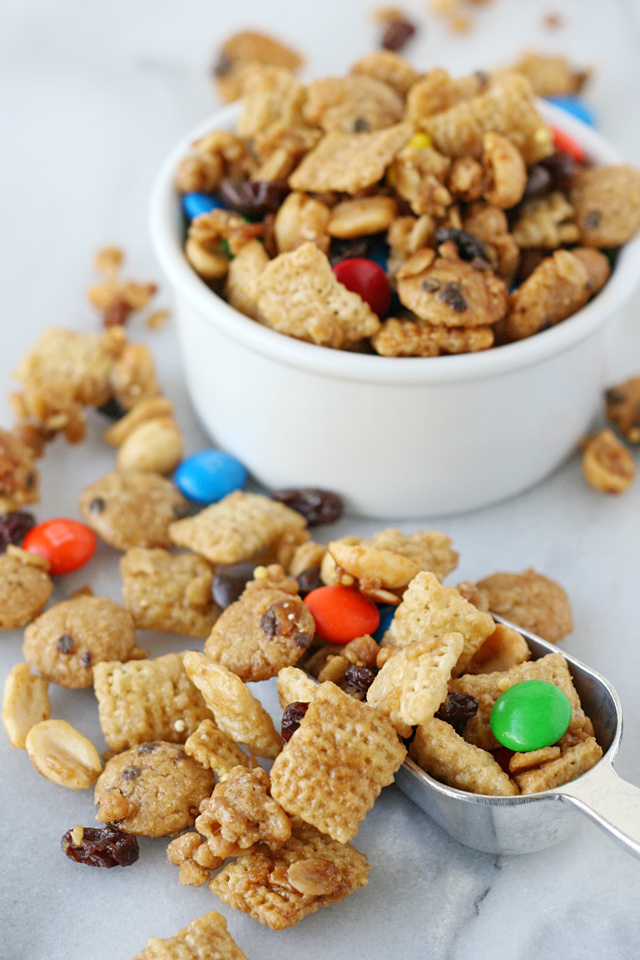 Monster Cookie Snack Mix