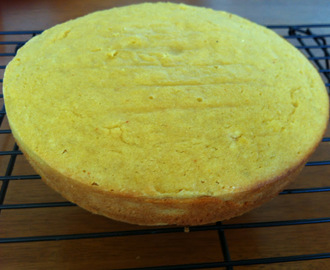 Lemon and Saffron Tea Cake - Gluten Free and Dairy Free