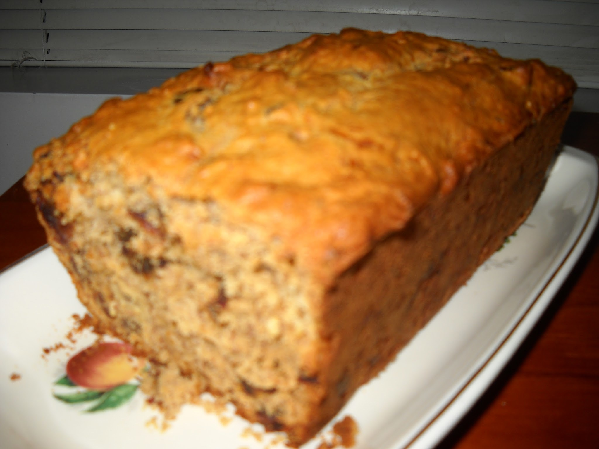 Banana, Date, Apricot and Pecan Tea Bread