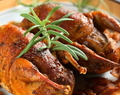 Rosemary Roasted Partridge with Bacon