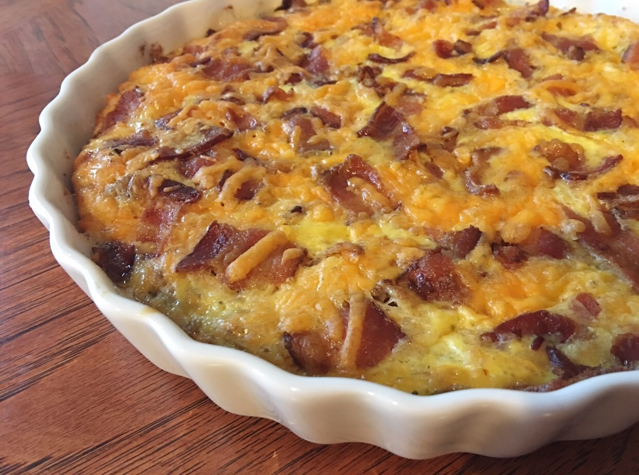 Bacon & Onion Casserole