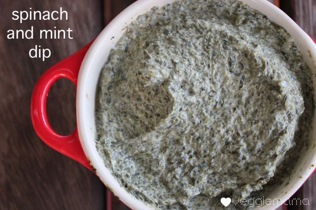 Spinach and Mint Dip