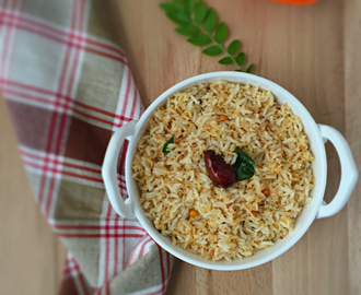 Coconut Rice | Thanjavur Thengai Saadam | How to make Coconut Rice at home | Gluten free and Vegan Recipe | Stepwise Pictures