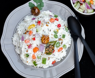 Yogurt Rice | Thayir Sadham