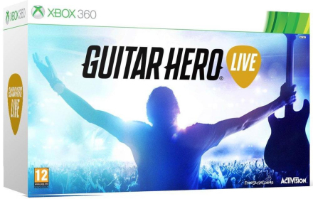 Guitar Hero Live - Guitar Bundle (Xbox 360)