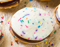 Funfetti Whoopie Pies (and One-Year Blogiversary!!)