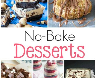 No Bake Desserts Recipes