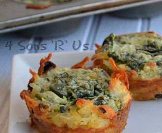 Spinach & Herbed Goat Cheese Hashbrown Nests and 25 Other Great Brunch Recipes