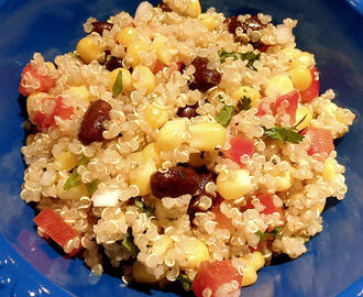 Corn, Black Bean and Quinoa Salad