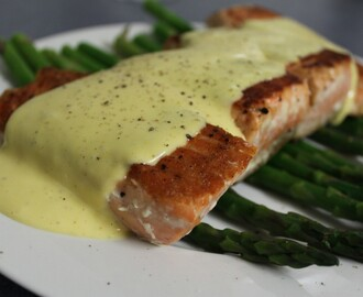 My Favourite Things: Salmon with Lime Hollandaise and Asparagus