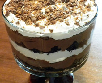 Death by Chocolate Trifle for Mother's Day!