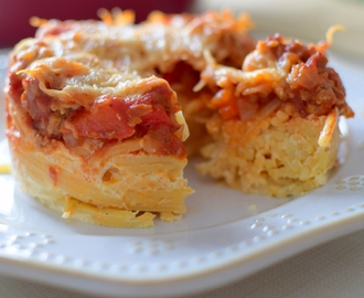 New York Spaghetti Pie, Oh My!