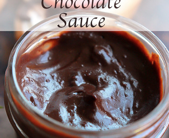 Avocado Chocolate Sauce