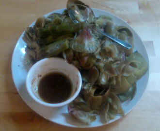 Artichokes with AIP Bagna Cauda (Instant Pot/Steamer)