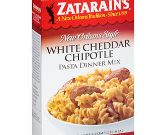 White Cheddar Chipotle Pasta and Hardwood Smoked Turkey Sausage