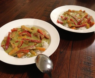 Dairy Free Green Curry Recipe