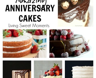 15  Amazing Anniversary Cake Recipes