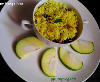 Raw Mango Rice (Mangai Sadam) Recipe