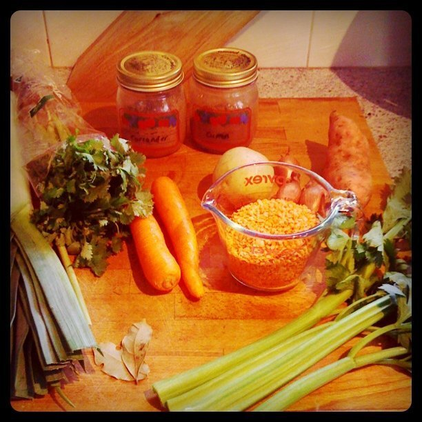 Vegetable & Lentil Soup Recipe