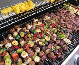 Recipe - Steak and Vegetable Kabobs