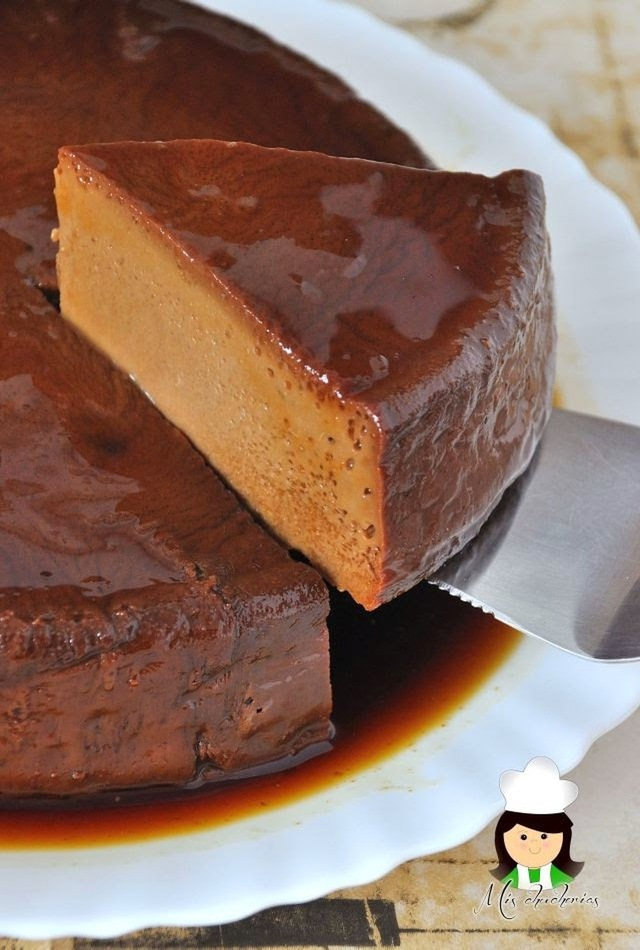 Receta de Quesillo o flan de chocolate