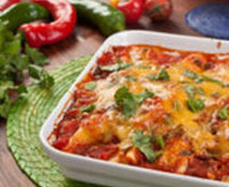 Cheese Enchiladas with Red Chile Gravy Recipe