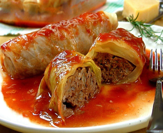 FOOD FRIDAY - CABBAGE ROLLS