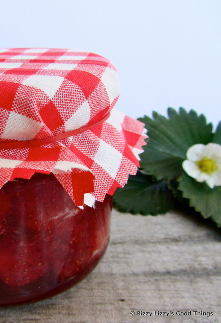 Strawberry Jam with a splash of Grand Marnier