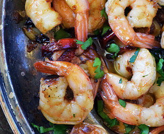 Spanish Garlic Shrimp #SundaySupper