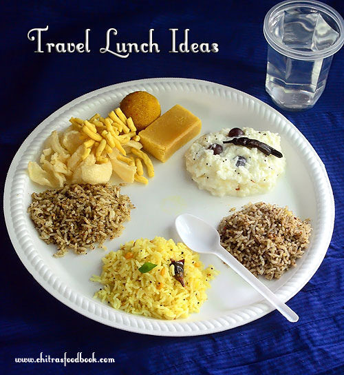 Travel Food Recipes Ideas–South Indian Variety Rice