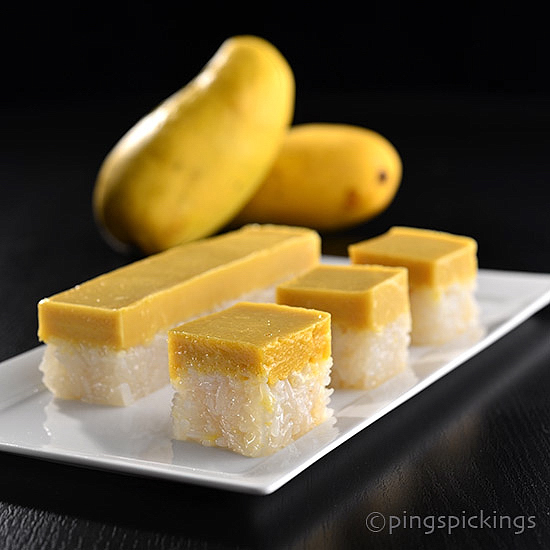 Reconstructed Mango Glutinous Rice