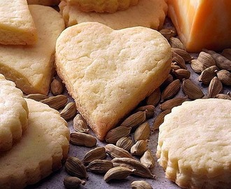 Cardamom Cheese Biscuits
