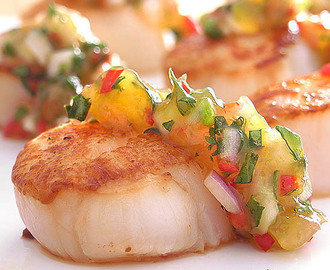 Scallops with Mango Chutney: Another Review