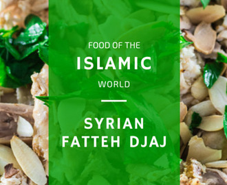 Syrian Fattet Djaj {Layered Chicken Platter}