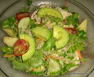 Avocado and Chicken Salad