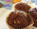 Whole Wheat Banana Mango Muffins