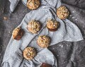 Date Walnut Blueberry Breakfast Muffins [DF + GF]